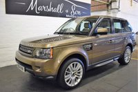 USED 2012 61 LAND ROVER RANGE ROVER SPORT 3.0 SDV6 HSE 5d AUTO 255 BHP STUNNING CAR - HUGE SPEC - HSE - 7 STAMPS TO 109K
