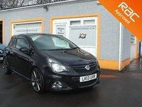 USED 2013 13 VAUXHALL CORSA 1.6 VXR NURBURGRING EDITION 3d 202 BHP 18 Inch alloys, 4 Service Stamps, RAC HPI Passport checked