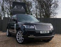 2014 LAND ROVER RANGE ROVER 3.0 TDV6 VOGUE 5dr AUTO £35999.00