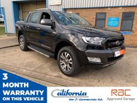 """USED 2017 67 FORD RANGER 3.2 (EURO 6) WILDTRAK 4X4 DCB TDCI AUTO 197 BHP One owner from new - Ford Ranger - 2017 on a """"67"""" plate, 17,017 miles. It is a direct one owner pick up, this has been my personal truck for the last 12 months, comes with full print out service history. Runs and drives superb, fantastic condition throughout, valeted to a very high standard. HPI clear. Any inspections welcome. We are located on the Telford Industrial Estate in Kettering, just 10 minutes from Northampton, Wellingborough Corby. FINANCE AVAILABLE - subject to status"""