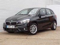2015 BMW 2 SERIES 2.0 218D SE ACTIVE TOURER 5d AUTO 148 BHP £11880.00