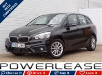 USED 2015 15 BMW 2 SERIES 2.0 218D SE ACTIVE TOURER 5d AUTO 148 BHP REAR CAMERA HEATED SEATS FSH