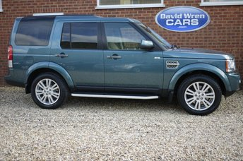2010 LAND ROVER DISCOVERY 3.0 4 TDV6 HSE 5d AUTO 245 BHP £14990.00