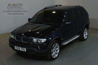 USED 2006 56 BMW X5 3.0 D SPORT 215 BHP AIR CON SAT NAV AUTO 4X4 ESTATE CAR SAT NAV TELEVISION CRUISE CONTROL