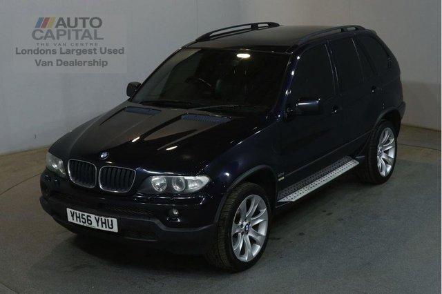 2006 56 BMW X5 3.0 D SPORT 215 BHP AIR CON SAT NAV AUTO 4X4 ESTATE CAR SAT NAV TELEVISION CRUISE CONTROL