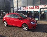 2013 SEAT IBIZA 1.4 TOCA 3d 85 BHP £3495.00