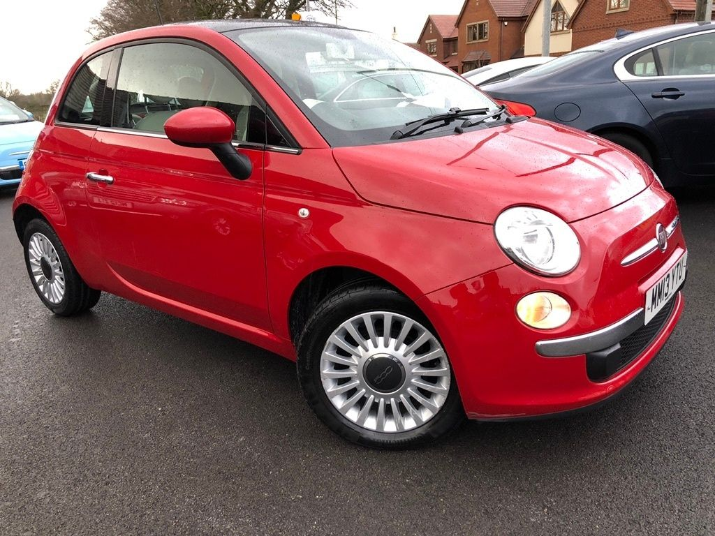 2013 Fiat 500 Lounge £4,680