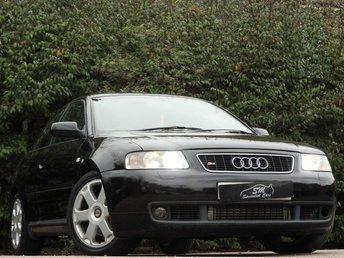 2002 AUDI S3 1.8 S3 QUATTRO 3d 221 BHP £4995.00