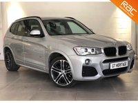 2016 BMW X3 XDRIVE20D M SPORT [PRO NAV][HTD SEATS] £26997.00