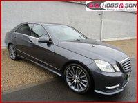 2013 MERCEDES-BENZ E-CLASS 2.1 E250 CDI BLUEEFFICIENCY SPORT 4dr AUTO 204 BHP *GENUINE LOW MILES* £12495.00