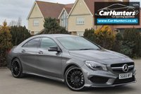 USED 2015 65 MERCEDES-BENZ CLA 2.0 AMG CLA 45 4MATIC 4d AUTO 375 BHP