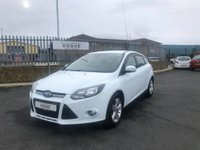 USED 2014 63 FORD FOCUS 1.6 ZETEC 5d 104 BHP