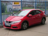 USED 2013 62 HONDA CIVIC 1.6 I-DTEC SE-T 5d 118 BHP Colour Sat Nav & Zero Tax