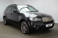 USED 2010 60 BMW X5 3.0 XDRIVE40D M SPORT 5DR AUTO 302 BHP SERVICE HISTORY + HEATED LEATHER SEATS + SATELLITE NAVIGATION PROFESSIONAL + PARKING SENSOR + BLUETOOTH + CRUISE CONTROL + DAB RADIO + XENON HEADLIGHTS + RADIO/CD/AUX/USB + MULTI FUNCTION WHEEL + PRIVACY GLASS + ELECTRIC/MEMORY SEATS + ELECTRIC WINDOWS + ELECTRIC MIRRORS + 20 INCH ALLOY WHEELS