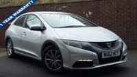 USED 2012 62 HONDA CIVIC 1.8 I-VTEC SE 5d 140 BHP