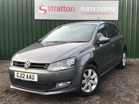 2012 VOLKSWAGEN POLO 1.2 MATCH 5d 59 BHP £SOLD