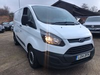 2014 FORD TRANSIT CUSTOM 2.2 290 LOW ROOF  PANEL VAN 125 BHP £5900.00