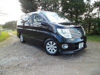 2005 NISSAN ELGRAND ELGRAND 8 SEAT 3.5 V6 GAS CONVERSION £7995.00