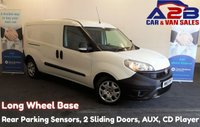 USED 2015 15 FIAT DOBLO 1.6 16V MULTIJET, Long Wheel Base, Rear Parking Sensors, 2 Sliding Doors, Remote Central Locking, Electric Windows  *Over The Phone Low Rate Finance Available*   *UK Delivery Can Also Be Arranged* Call us on 01709 866668