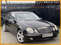 USED 2003 53 MERCEDES-BENZ E-CLASS 2.7 E270 CDI ELEGANCE 4d 177 BHP *18'' AMG ALLOYS, LEATHER INTERIOR, PRIVACY GLASS!*