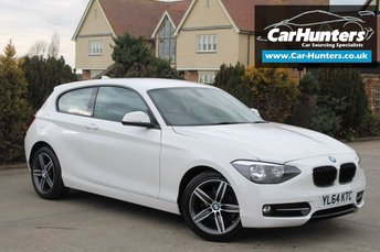 2015 BMW 1 SERIES 2.0 118D SPORT 3d 141 BHP £9995.00