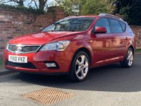 USED 2010 10 KIA CEED 1.6 3 SW CRDI 5d AUTO 113 BHP FULL SERVICE HISTORY 10 SERVICES, MOT MAR 20, EXCELLENT CONDITION, ALLOYS, AIR CON, CRUISE,  E/WINDOWS, R/LOCKING, FREE  WARRANTY, FINANCE AVAILABLE, HPI CLEAR, PART EXCHANGE WELCOME,