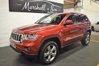 2012 JEEP GRAND CHEROKEE 3.0 V6 CRD OVERLAND 5d AUTO 237 BHP £17500.00