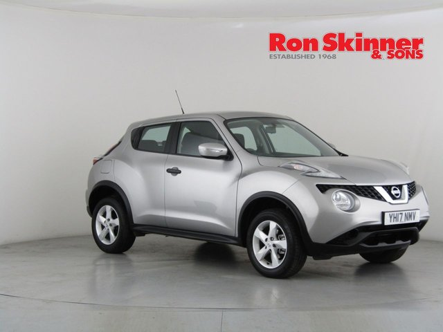 View our 2017 17 NISSAN JUKE 1.6 VISIA 5d 94 BHP