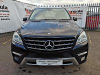 USED 2013 13 MERCEDES-BENZ M CLASS 2.1 ML250 CDI BlueTEC AMG Sport 7G-Tronic Plus 4x4 5dr SAT NAV+BLUETOOTH+AMG+VALUE!!!