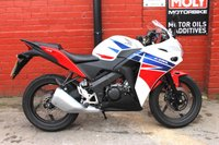 2015 HONDA CBR 125 R-F *12mth Mot, Low Mileage, 3mth Warranty, Finance Available £2390.00