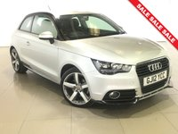 USED 2012 12 AUDI A1 1.6 TDI CONTRAST EDITION 3d 105 BHP Part Leather/17 Alloy Wheels