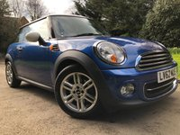 2012 MINI HATCH COOPER 1.6 COOPER 3d 122 BHP £7490.00
