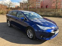 2015 TOYOTA AVENSIS 2.0 D-4D BUSINESS EDITION 5d 141 BHP £10790.00