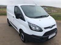 USED 2016 16 FORD TRANSIT CUSTOM 2.2 290 L1H1 P/V 1d 100 BHP