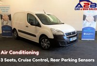 USED 2015 65 PEUGEOT PARTNER 1.6 HDI PROFESSIONAL 625, 3 Seats, Air Conditioning, Bluetooth, Cruise Control, Rear Parking Sensors *Over The Phone Low Rate Finance Available* *UK Delivery Can Also Be Arranged* Call us on 01709 866668