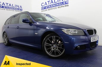 2012 BMW 3 SERIES 2.0 318D SPORT PLUS EDITION TOURING 5d AUTO 141 BHP £9000.00