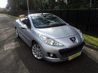 2010 PEUGEOT 207 1.6 GT COUPE CABRIOLET 2d 148 BHP £4488.00