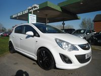2012 VAUXHALL CORSA 1.2 LIMITED EDITION 5d 83 BHP ONE FORMER KEEPER £3995.00