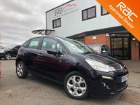 USED 2013 63 CITROEN C3 1.6 EXCLUSIVE 5d AUTO 118 BHP ALLOY WHEELS   FOLDING MIRRORS   PARKING SENSORS   AIR CONDITIONING   PANORAMIC ROOF   BLUETOOTH   AUX