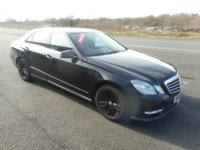 USED 2013 13 MERCEDES-BENZ E-CLASS 2.1 E220 CDI BLUEEFFICIENCY S/S SPORT 4d AUTO 170 BHP SAT NAV LEATHER
