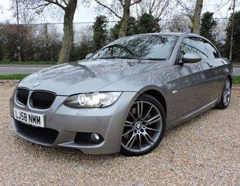 2008 BMW 3 SERIES 3.0 325I M SPORT 2d AUTO 215 BHP £6450.00