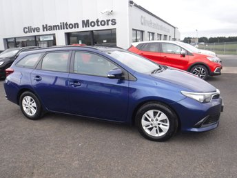 2016 TOYOTA AURIS 1.4 D-4D ACTIVE TOURING SPORTS 5d 89 BHP £7995.00
