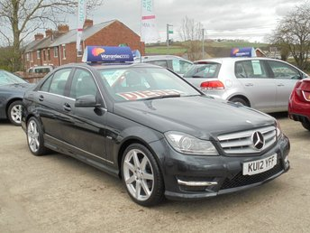 2012 MERCEDES-BENZ C CLASS 2.1 C250 CDI BLUEEFFICIENCY SPORT 4d AUTO 202 BHP *1 OWNER* EXCELLENT* £9950.00