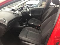 USED 2016 65 FORD FIESTA 1.0 ZETEC 5d 99 BHP IN METALLIC RED WITH 34,000 MILES APPROVED CARS ARE PLEASED TO OFFER THIS FORD FIESTA 1.0 ZETEC 5D 99 BHP IN METALLIC RED WITH A FULL SERVICE HISTORY AT 14K AND 24K. PERFECT FIRST DRIVER CAR WITH THE LOW ENGINE SIZE AND LOW INSURANCE AND LOW ROAD TAX.