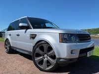 USED 2011 11 LAND ROVER RANGE ROVER SPORT 3.0 TDV6 HSE 5d 245 BHP ***HEATED STEERING WHEEL***