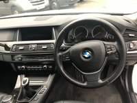 USED 2016 66 BMW 5 SERIES 2.0 520D LUXURY 4d 188 BHP IN METALLIC WHITE WITH A FULL SERVICE HISTORY AND ONLY 57,000 APPROVED CARS ARE PLEASED TO OFFER THIS BMW 5 SERIES 2.0 520D LUXURY 4 DOOR 188 BHP IN METALLIC WHITE WITH A FULL SERVICE HISTORY AT 19K AND 38K, WITH A MASSIVE SPEC SAT NAV, BLUETOOTH, FULL BLACK LEATHER WITH HEATED SEATS AND MUCH MORE. NOT A VEHICLE TO BE MISSED.