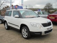 USED 2013 13 SKODA YETI 2.0 SE TDI CR 4X4 5d 109 BHP *EXCELLENT THROUGHOUT*