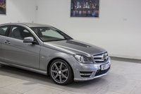 USED 2011 11 MERCEDES-BENZ C-CLASS 1.8 C180 BLUEEFFICIENCY AMG SPORT 2d AUTO 156 BHP Brand NEW MARCh 2020 MOT & Just Been Serviced< DAB, Cruise Control, Heated Seats