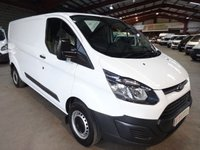 USED 2015 15 FORD TRANSIT CUSTOM 2.2 290 LR P/V 100 BHP L2 LWB VAN '' YOU'RE IN SAFE HANDS  ''  WITH THE AA DEALER PROMISE