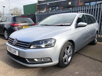 USED 2011 11 VOLKSWAGEN PASSAT 1.6 SE TDI BLUEMOTION TECHNOLOGY 5d 104 BHP